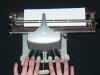 Braille-írógép - Budapest Láthatatlan Kiállítás
